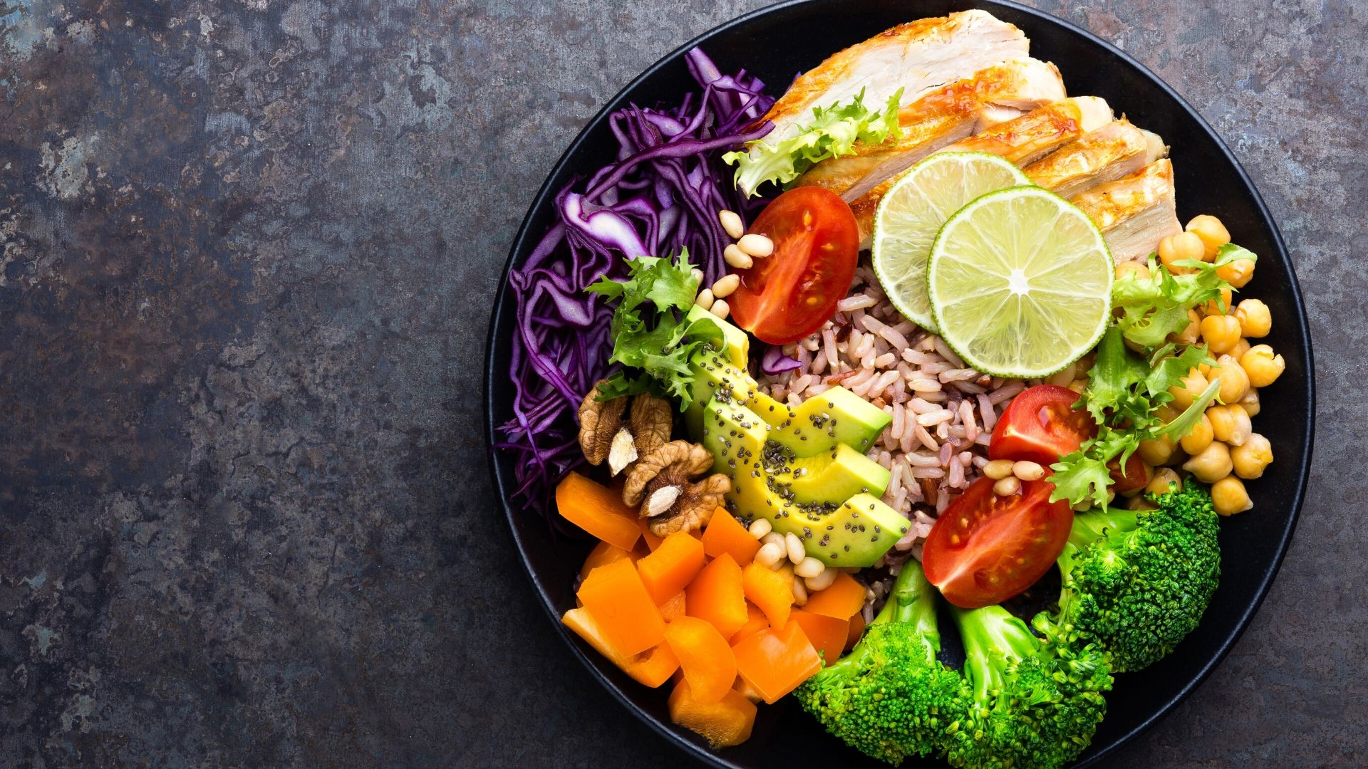 Alimentation saine et équilibrée pour preserver sa santé