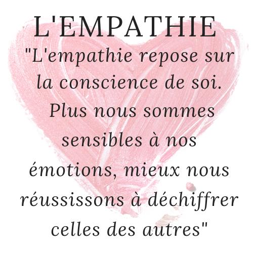 L'empathie permet de tenir compte des émotions des autres et peut permettre de lutter contre la grossophobie